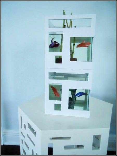 Многоэтажный аквариум